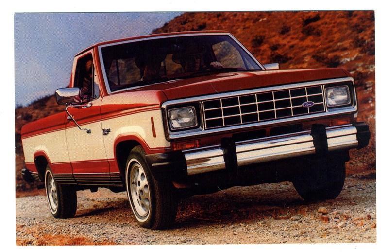 1983 ford ranger pick up truck dealers advertising postcard ebay. Black Bedroom Furniture Sets. Home Design Ideas