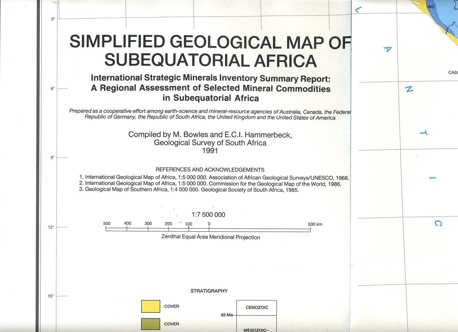 geological map of south africa pdf