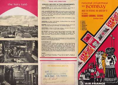 Eucharistic Congress Bombay 1964 Bombay Eucharistic Congress