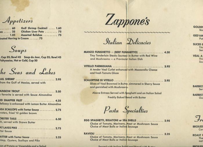 Image gallery northern italian menu for Italian menu