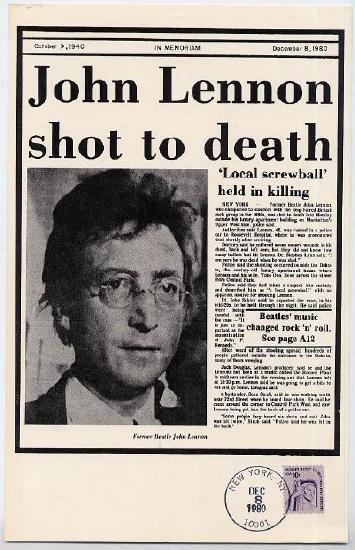 Кто убил джона леннона и почему