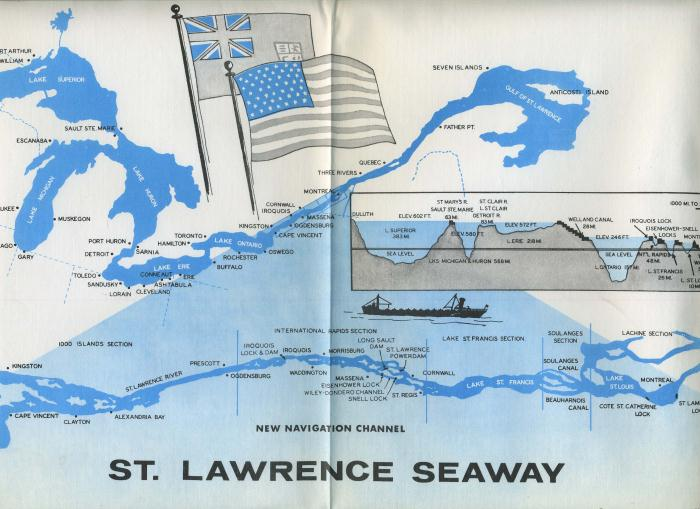 St Lawrence Seaway St lawrence seaway placemat
