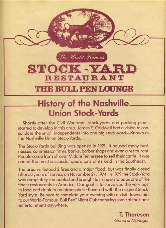 The Bull Pen Restaurant Menu